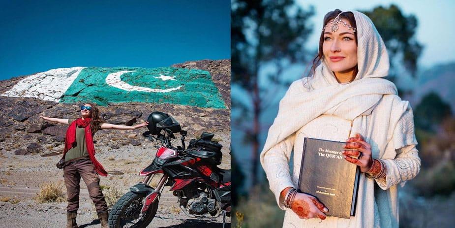 Rosie Gabrielle converts to Islam