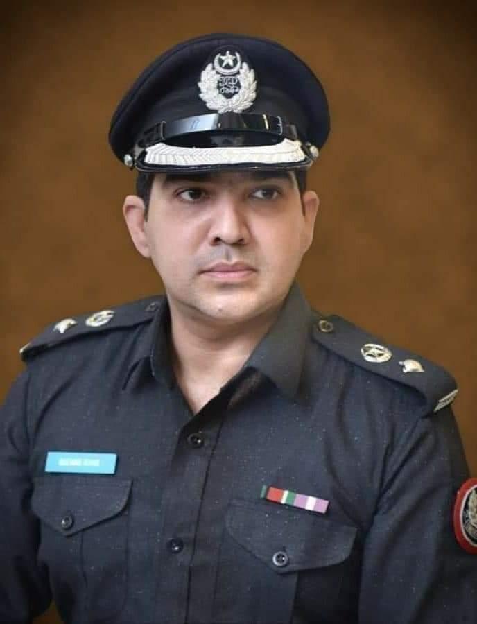 SSP Shikarpur, Dr Rizwan