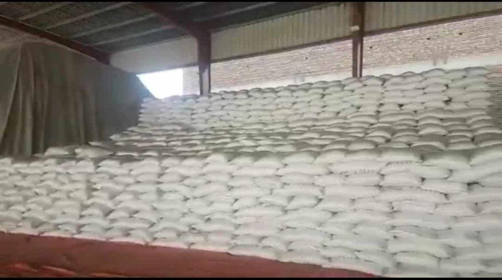 Raid on Warehouse of Manzoor Wassan discovered 100,000 sugarSugar bags
