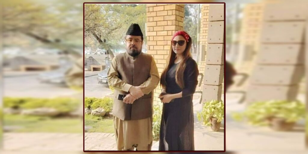 Hareem Shah leaked video call with mufti Abdul Qawi