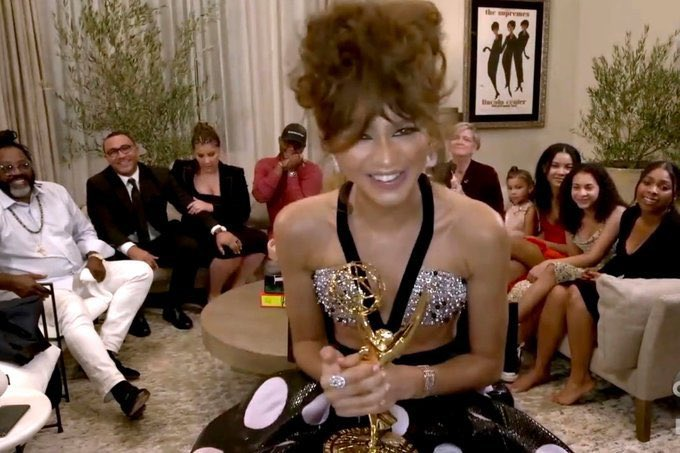 ZENDAYA is the YOUNGEST ACTRESS TO WIN AN EMMY