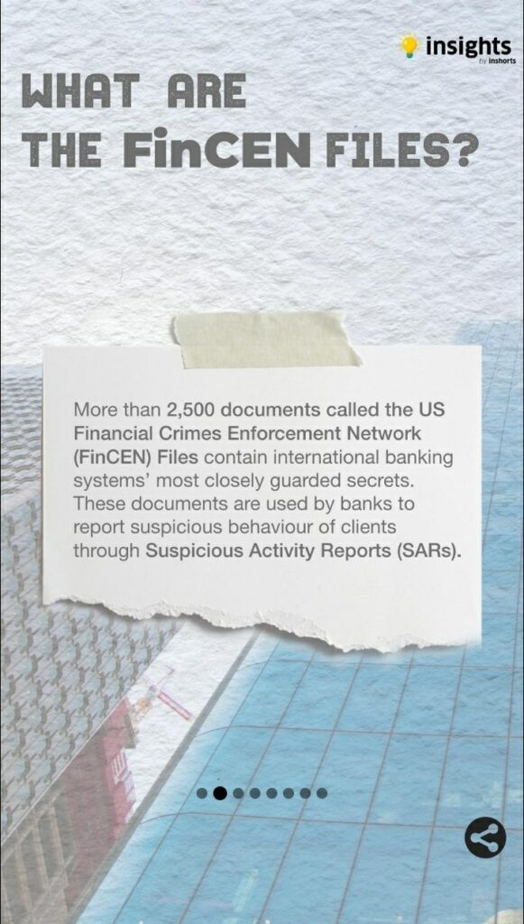 What are the FinCEN files