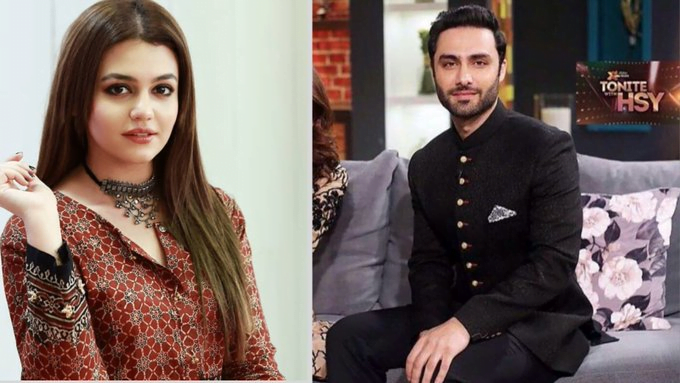 Zara Noor Abbas and Ahmed Ali Akbar