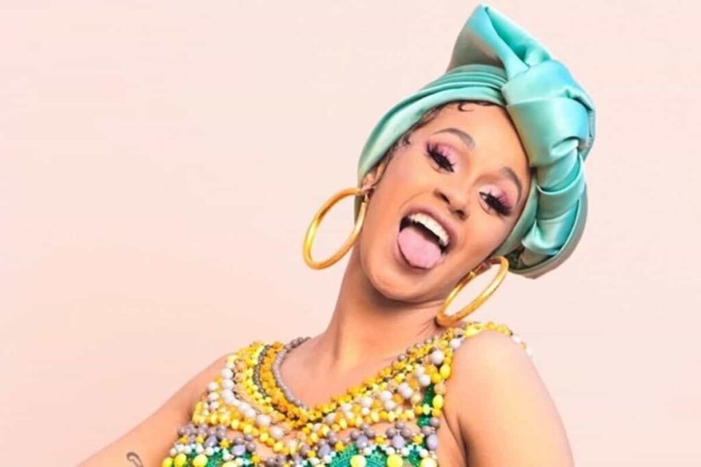 Cardi B Instagram story photo which she leaked accidentally, became viral on social media