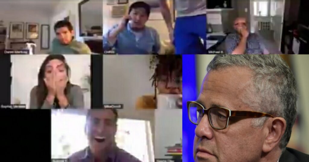 Jeffrey Toobin Zoom video call made him suspended