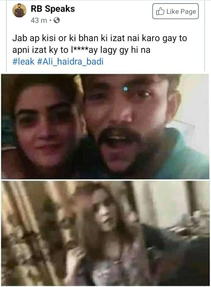 Ali Khan Hyderabadi leaked video scandal
