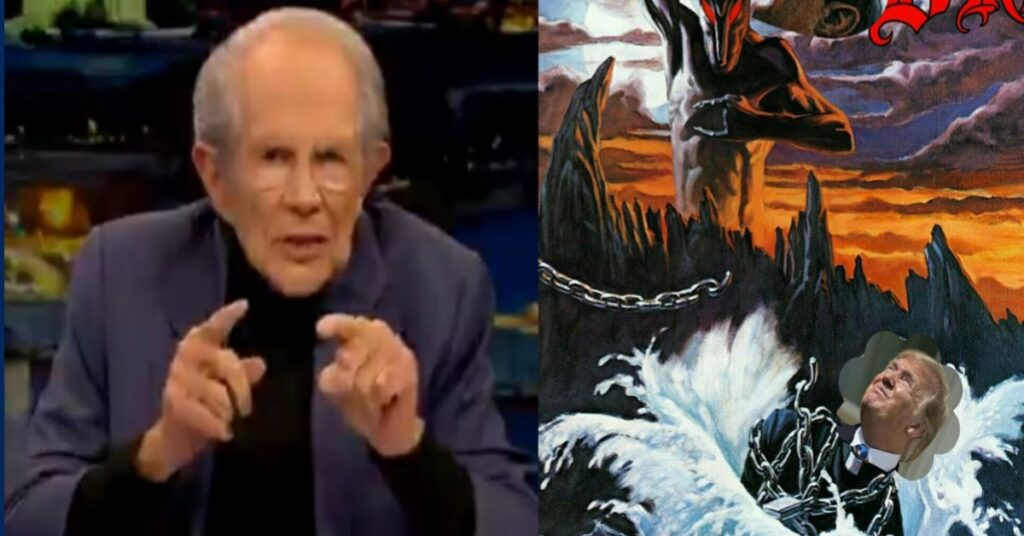 US president Donald Trump is being called Anti-christ after Pat Robertson claims Trump will be re-elected and End times will begin after he has sworn