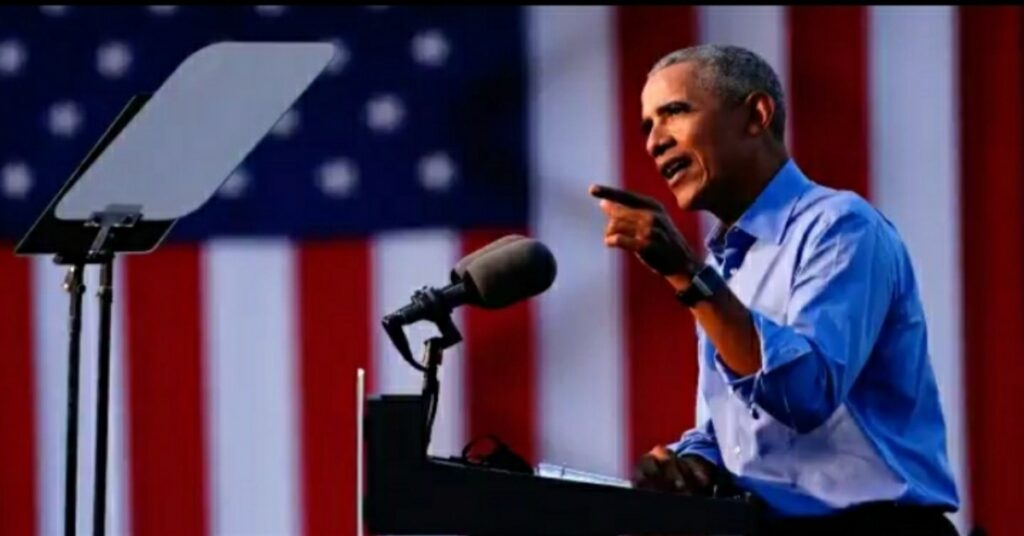 Former President Obama receives criticism from evangelical Hispanics after he says they support President Trump despite Trump saying 'racist things about Mexicans' and 'puts undocumented workers in cages'
