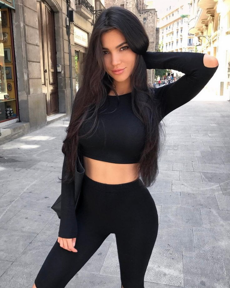 Russian Instagram model Sveta Bilyalova